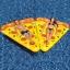 ห่วงยางพิซซ่าว่ายน้ำ ห่วงยางพิซซ่า แพยางพิซซ่า แพPizza แฟนซี พิซซ่า Pizza Pool Float thumbnail 2