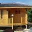 บ้านไม้สน ขนาด 3*5.5 เมตร (1 ห้องนอน 1 ห้องน้ำ) thumbnail 8