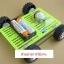 ABS plastic Mounting Plate Universal Robot แผ่นพลาสติก ABS ขนาด 7.5x12cm สีเขียว thumbnail 4