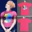 เสื้อยืด Grahpic PINK Sty.G-Dragon -ระบุไซต์- thumbnail 2