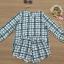 ชุดเซ็ทเสื้อ+กางเกง ผ้ามอสเครปลายตาราง thumbnail 7