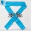 20ชิ้น ผ้าคาดหัว พันข้อมือ พันแขน 5*110ซม สีฟ้า thumbnail 1