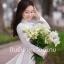 ชุดเวียดนามผู้หญิง สีขาว (งานสั่งตัดพิเศษ) thumbnail 7