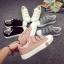 รองเท้าผ้าใบแฟชั่นเทปปะ thumbnail 6