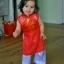 ชุดเวียดนามเด็กหญิง ผ้าแพรไหม (แขนกุด) thumbnail 3