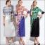 M580488 / S M L XL / 2015 Fashion dress พรีออเดอร์เดรสแฟชั่นงานเกรดยุโรป สวยดูดีมีสไตล์ นางแบบใส่ชุดจริง เป๊ะเว่อร์! thumbnail 1