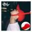 หมวกแบบ G-Dragon (red) สายสั้น thumbnail 3