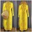 ชุดเวียดนามหญิงชั้นสูง ลายหงส์คู่มังกร (สีเหลือง) thumbnail 1