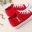 รองเท้าผ้าใบแฟชั่นผู้หญิงแต่งซิปข้าง เสริมความสูงด้านใน 6.8 ซม. ขนาด 35-39 (พรีออเดอร์) thumbnail 4