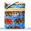 ของฝากจากไทย กระเป๋าสะพายลายช้างผ้าถุงสายหนัง แบบ 3 สีน้ำเงิน thumbnail 1