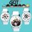 นาฬิกาข้อมือ GOT7 Cartoon -เลือกแบบ/ระบุสี- thumbnail 1