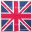 1โหล ลายธงชาติอังกฤษ สหราชอาณาจักร ผ้าพันคอ ผ้าโพก thumbnail 2