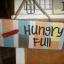 ป้ายแต่งบ้าน Hungry-Full thumbnail 1