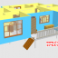 CD01 บ้านตัวอย่าง 11*6.5 เมตร 4 ห้องนอน 3 ห้องน้ำ 1 ห้องนั่งเล่น 1 ห้องครัว 768,000 บาท เพิ่มระเบียงหลังคาคลุม 2*4 ราคา 68,000 รวม 835,000 บาท thumbnail 4