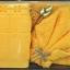 ชุดผ้าขนหนูสำหรับถวายพระ ผ้าฝ้าย100% เกรดA มีทั้งผ้าขนหนู สีเหลือง / สีกรัก ชุดละ 220 บาท ส่ง 50ชุด thumbnail 1