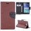 Huawei P9 Plus - เคสฝาพับ Mercury Goospery Fancy Leather Case cover แท้ thumbnail 16