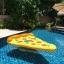 ห่วงยางพิซซ่าว่ายน้ำ ห่วงยางพิซซ่า แพยางพิซซ่า แพPizza แฟนซี พิซซ่า Pizza Pool Float thumbnail 6