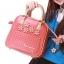 กระเป๋าแฟชั่น Share Young สีชมพูหวานมาก ๆ มีสายยาวถอดสายได้(พรีออเดอร์) thumbnail 1