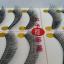 V-022 ขนตาเอ็นใส สีน้ำตาล(ขายปลีก) แพ็คละ 10 คู่ thumbnail 2