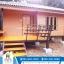 บ้านน็อคดาวน์ดาวน์ ขนาด 4*6 เมตร เพิ่มระเบียง 2*3 เมตร (1 ห้องนอน 1 ห้องนั่งเล่น 1 ห้องน้ำ) thumbnail 1