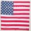 ลายธงชาติอเมริกา 1 ผืน ผ้าพันคอ ผ้าโพก thumbnail 3