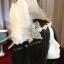 MAI17 มงกุฎขนนกขาว ผี้เสื้อเงิน (งาน handmade)**สินค้ามีจำกัด** thumbnail 8