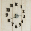 นาฬิกาติดผนัง DIY สีดำ ขนาด 40 ซม CD111 thumbnail 1