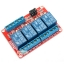 Relay 4 Channel 12V relay Active High / LOW Relay Module Shield 250V/10A thumbnail 1