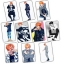 Sticker Card Mix G-Dragon KT740 (10pc) thumbnail 1