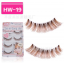 HW-19# ขนตาเอ็นใส สีน้ำตาล (ขายปลีก) เเพ็คละ 5 คู่ ขายยกเเพ็ค thumbnail 1