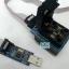 Socket 28 CHIP PROGRAMMER SOCKET TQFP32 QFP32/ LQFP32 TO DIP28 adapter socket for arduino atmega328 atmega168 atmega8 thumbnail 6