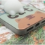 iPhone 7 - เคส TPU หลังนุ่มนิ่ม 3D ลายแมวขาว พื้นหลังเขียว thumbnail 12