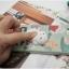 iPhone 7 - เคส TPU หลังนุ่มนิ่ม 3D ลายแมวขาว พื้นหลังเขียว thumbnail 4