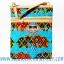 ของฝากจากไทย กระเป๋าสะพายลายช้างผ้าถุงสายหนัง แบบ 6 สีฟ้า thumbnail 1