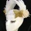 MAI16 มงกุฎขนนกขาว ผี้เสื้อทอง (งาน handmade)**สินค้ามีจำกัด** thumbnail 6