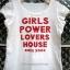 เสื้อยืด ผ้าสเปนเดก สกรีนอักษรสีแดง Girl Power Lover House เก๋ๆ น่ารัก thumbnail 1