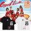เสื้อยืด AOA Good Luck Number -ระบุสี/ไซต์/สมาชิก thumbnail 1
