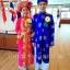 ชุดเวียดนามหญิงชั้นสูง ลายหงส์คู่มังกร (สีชมพูแดง) thumbnail 2