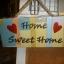ป้ายแต่งบ้าน Home Sweet Home thumbnail 1