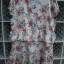 เดรสสั้น สีครีมลายดอกไม้ เนื้อผ้านิ่ม ใส่สบาย ใส่แล้วดูสวยหวาน ยี่ห้อ Style By CNE จากเกาหลี Size M thumbnail 2