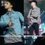 เสื้อแขนยาวลายทางแบบ G-Dragon -ระบุไซต์- thumbnail 1