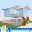 บ้านโมบาย ขนาด 6*7 ระเบียง 3*3 เมตร +ยกสูง 2 เมตร (1ห้องนอน 2ห้องน้ำ 1ห้องรับเเขก 1ห้องครัว) thumbnail 1