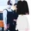 เสื้อแขนยาว SUPREME 15FW OLD ENGLISH Sty.JIMIN BTS -ระบุสี/ไซต์ thumbnail 1