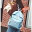 J02-กระเป๋าสะพายแฟชั่น สีฟ้าอ่อน thumbnail 1