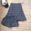 ชุดเซตเกาะอก+กางเกง ผ้าไหมอิตาลี่ ลายตาราง thumbnail 5