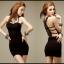 Sexy Dress 4 สีดำ thumbnail 1