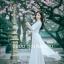 ชุดเวียดนามผู้หญิง สีขาว (งานสั่งตัดพิเศษ) thumbnail 2