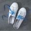 รองเท้าผ้าใบเปิดส้นเชือกไล่สี (สินค้าพร้อมส่ง) thumbnail 3