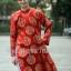 ชุดเวียดนามชาย - สีแดง thumbnail 1