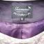 สูท เสื้อตัวนอก สีม่วงมันสวยเรียบหรู ยี่ห้อ Touraine มีระบายที่ชายเสื้อ 2 ชั้น ใส่แล้วดูดีมีสไตล์ thumbnail 3